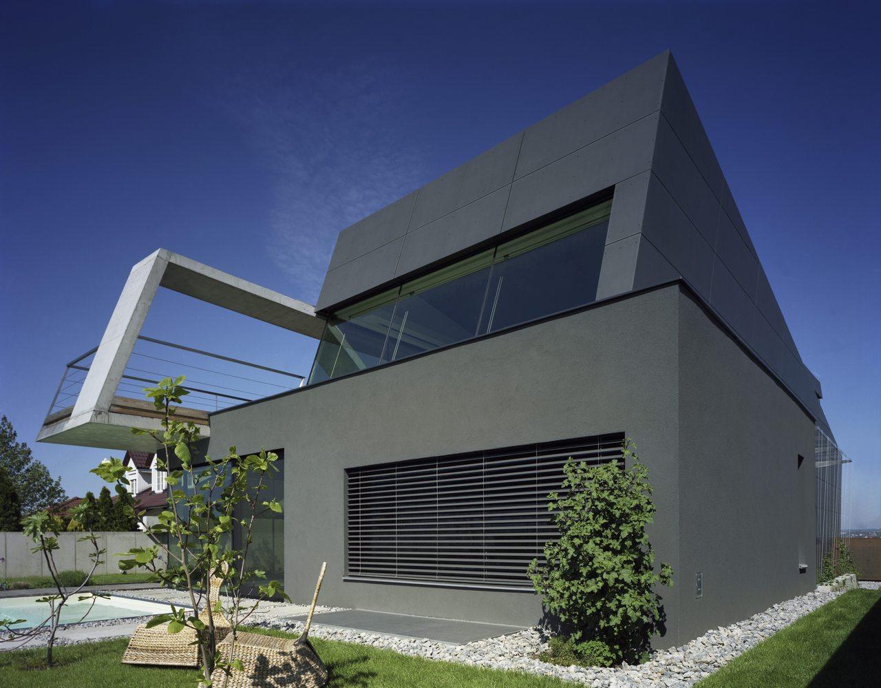 Neubau Wohnhaus ad2 in Weiden am See, Österreich - FVHF.de