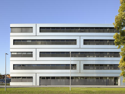 Fassade bürogebäude  Bürogebäude im Siemens Technopark - FVHF.de