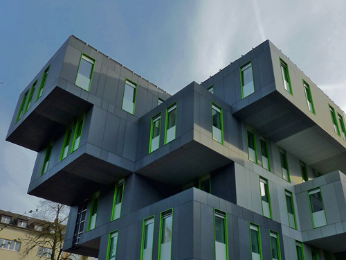 neubau des studierenden service centers der universit t. Black Bedroom Furniture Sets. Home Design Ideas