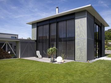 Fassade einfamilienhaus  Innovatives Einfamilienhaus in der Schweiz - FVHF.de